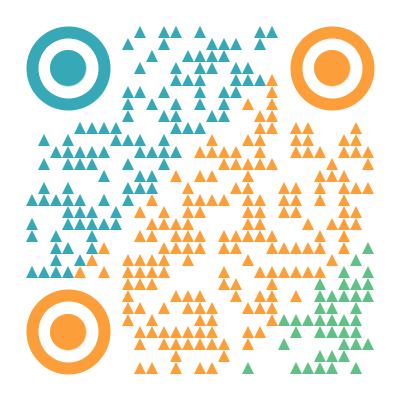 二维码美化模板-简约样式